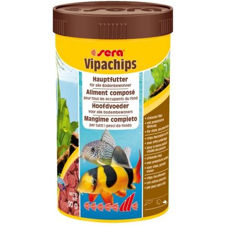 Sera Vipachips 250 ml 90 gr Mangime per Pesci da Fondo Acquario