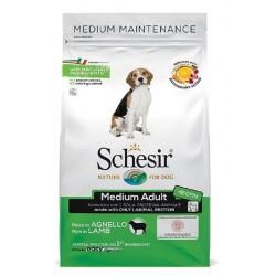 Schesir Dog Medium Adult Agnello 3 kg Crocchette per Cane