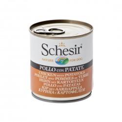 Schesir Dog 285 gr Pollo e Patate Alimento Umido per Cane