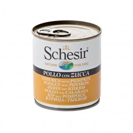 Schesir Dog 285 gr Pollo con Zucca Alimento Umido per Cane