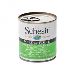 Schesir Dog 285 gr Pollo con Piselli Alimento Umido per Cane
