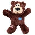Kong Wild Knotz Bear S/M Orsetto in Peluche con Corda per Cane NKR3