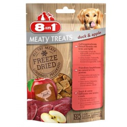 8in1 Meaty Treats Anatra e Mela 50 g Snack Liofilizzati per Cane