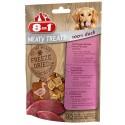 8in1 Meaty Treats Anatra 50 g Snack Liofilizzati per Cane