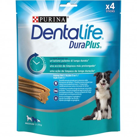 Purina Dura Plus Medium Snack Dentale 197 gr 4 Sticks