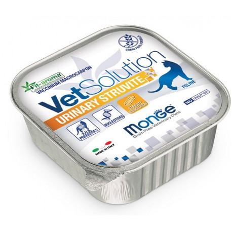 Monge VetSolution Urinary Struvite Feline 100g per Gatto