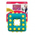 Kong Dotz Square Small Gioco Sonoro Dentale per Cane TDD32E