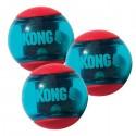 Kong Action Squeezz Ball Small Gioco per Cane Conf. 3 palle PSA33E