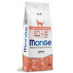 Monge Gatto Natural Superpremium Adult 10 Kg con Salmone