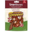 SmartBones Chicken Wrapped Mini Sticks 9 Cicche Vegetali con Pollo per Cani