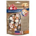 8in1 Triple Flavour Bone 21 Ossetti XS Snack per Cani