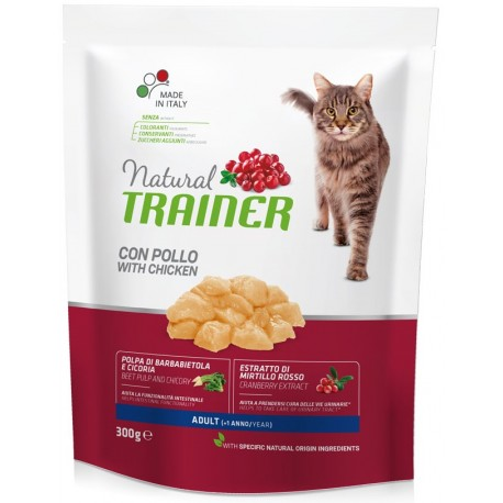 Trainer Natural Adult Cat con pollo gr 300 croccantini gatto