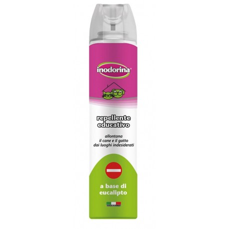 Inodorina Spray 300 ml Repellente Educativo per Cane e Gatto