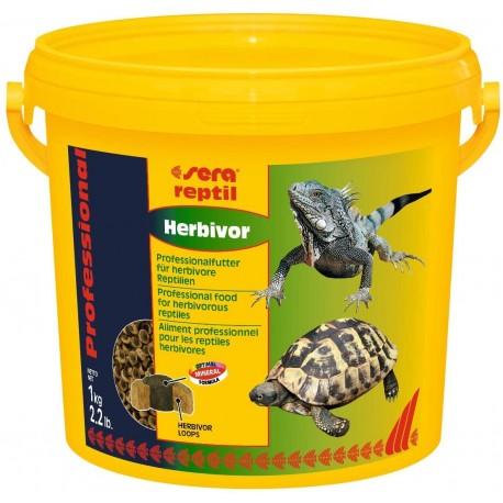Sera Reptil Professional Herbivor 3800 ml 1Kg Mangime per Rettili Erbivori