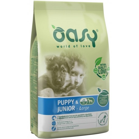 Oasy Dry Dog Puppy & Junior Large 12 Kg