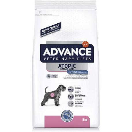 Advance Diets Atopic Medium/Maxi 3 Kg Crocchette con Trota per Cani