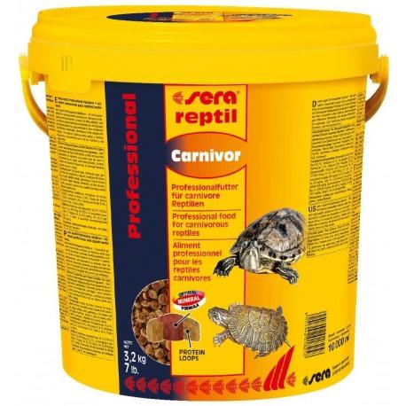 Sera reptil Carnivor 10 litri Mangime per Rettili Carnivori