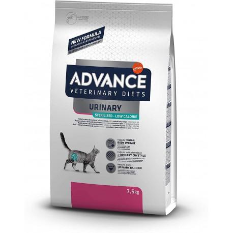 Advance Veterinary Diets Urinary Sterilised Low Calorie per Gatto 1,25 Kg