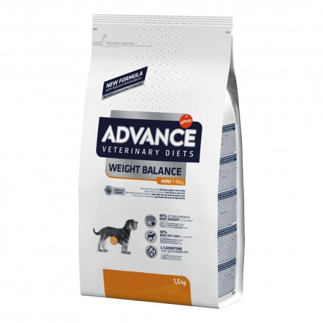 Advance Diets Weight Balance Mini 1,5 Kg Crocchette per Cani