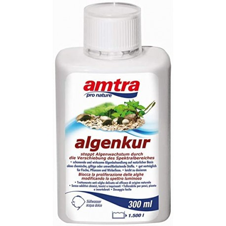 Amtra Algenkur 300 ml Antialghe per Acquario