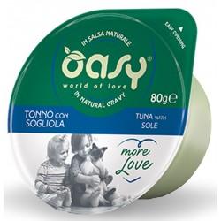 Oasy More Love Green Cup Tonno Con Sogliola 80 g