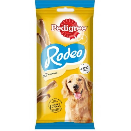 Pedigree Rodeo Ropper Pollo 7 Bastoncini 123g Snack per Cane