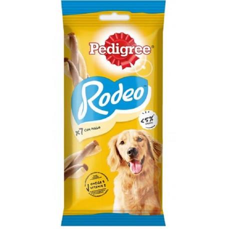 Pedigree Rodeo Ropper Pollo 7 Bastoncini 123g Snack per Cane