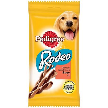 Pedigree Rodeo Ropper Manzo 7 Bastoncini 123g Snack per Cane