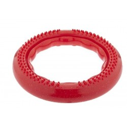 Power Pull Strong Medium Rosso Gioco Aromatizzato Resistente per Cane
