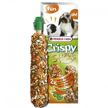 Versele Laga Crispy Sticks Carota e Prezzemolo 2 x 55 gr Snack per Conigli e Cavie