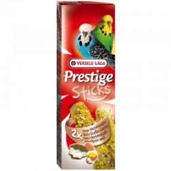 Versele Laga Prestige Sticks Uova e Ostriche Snack per Cocorite 2 x 30 gr