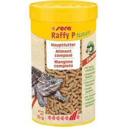 Sera Raffy P Nature 250 ml 55g Mangime completo in Sticks per Tartarughe