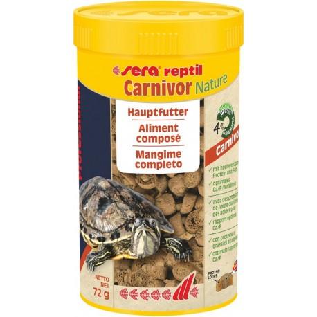 Sera reptil Carnivor Nature 250 ml 72g Mangime per Rettili Carnivori