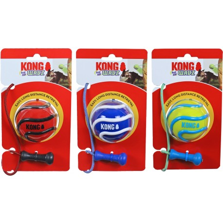 Kong Wavz Bunjiball Medium PSV21 Gioco Palla Assortita per Cane