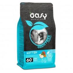 Oasy Grain Free Kitten 300 gr gusto Pesce per Gattini