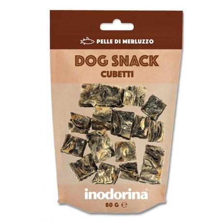 Inodorina Dog Snack Cubetti al Merluzzo 80 gr per Cane