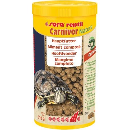 Sera reptil Carnivor Nature 1000 ml 310g Mangime per Rettili Carnivori
