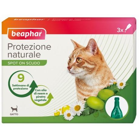 Beaphar Protezione Naturale Spot On Scudo Gatto 3 fiale