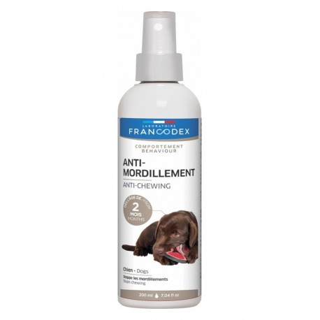 Spray Anti Mordicchiamento per Cani Cuccioli 200ml
