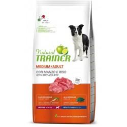 Trainer Natural Adult Medium Manzo e Riso 12 kg