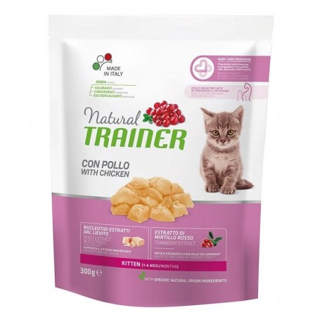 Trainer Natural Kitten gr 300 croccantini per gatto