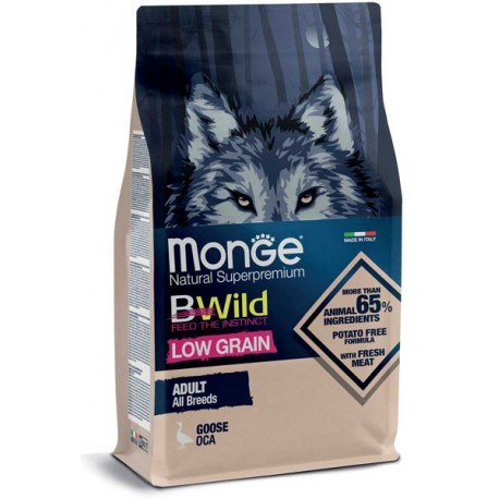 Monge Bwild low grain Adult oca