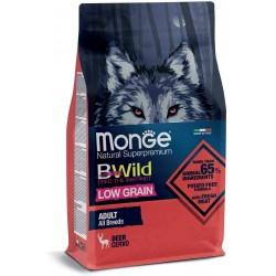 Monge Bwild Low Grain Cervo Adult All Breeds 2,5 kg