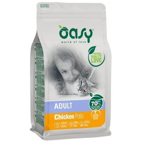 Oasy Dry Cat Adult Pollo Alimento secco per gatti 300 gr