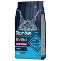 Monge Bwild Gatto Low Grain Adult Acciughe 1,5 Kg Croccantini per Gattini