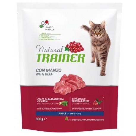 Trainer Natural Adult Cat con manzo gr 300 croccantini gatto