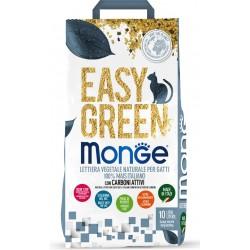 Monge Easy Green Mais e Carbone Lettiera Vegetale 10 Lt per Gatto