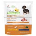 Natural Trainer Sensitive No Gluten Adult Small & Toy con Maiale 800g