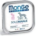 Monge Monoprotein Solo Maiale Vaschetta 150 gr per Cane