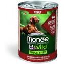 Monge Bwild Grain Free Bocconcini Agnello Adult 400 gr